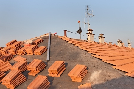 Preparing for new roof installation