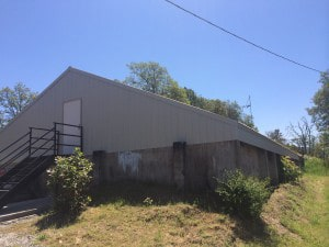 Commercial Reroof Waste Water Treatment Facility Gold Hill
