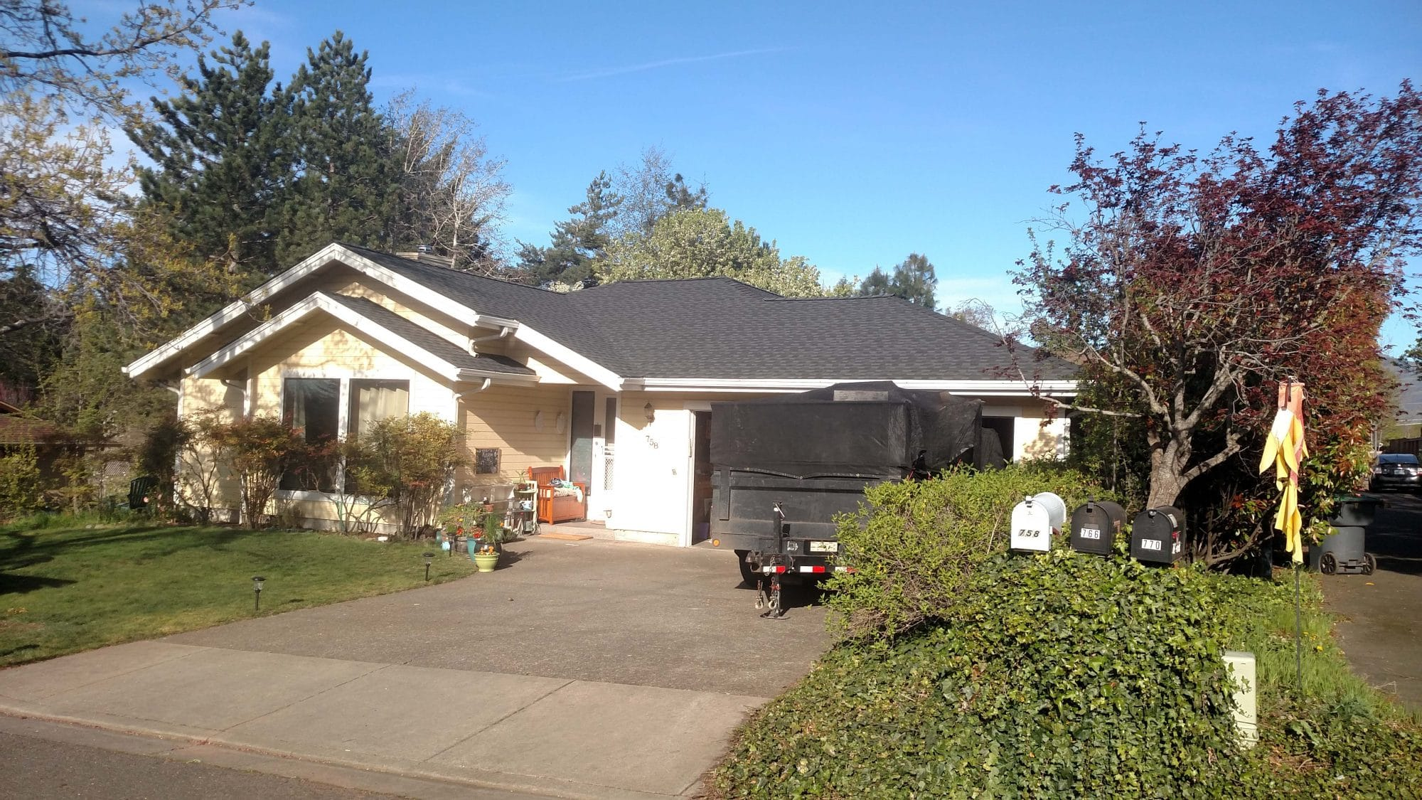 This Composition Shingle Roof In Medford Oregon Looks Great